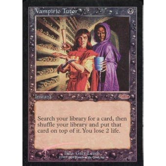 Magic the Gathering Promo Single Vampiric Tutor Judge Foil (DCI) - SLIGHT PLAY (SP)