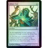 Magic the Gathering Darksteel Single Aether Vial FOIL - HEAVY PLAY (HP)