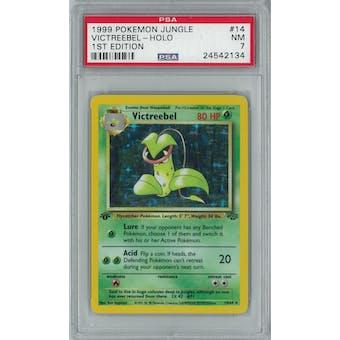 Pokemon Jungle 1st Edition Victreebel 14/64 PSA 7