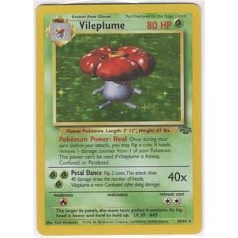 Pokemon Jungle Single Vileplume 15/64 - NEAR MINT (NM)