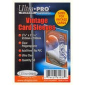Ultra Pro Vintage Card Sleeves 50 Count Pack (Lot of 10)