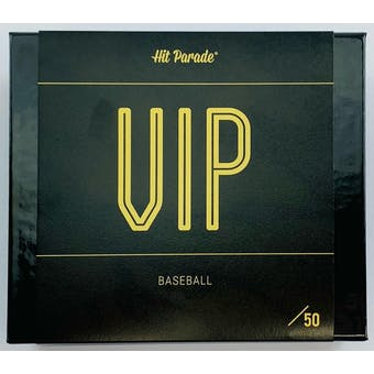 2020 Hit Parade Baseball VIP Series 5 Hobby Box /50 Tatis-Acuna-Torres