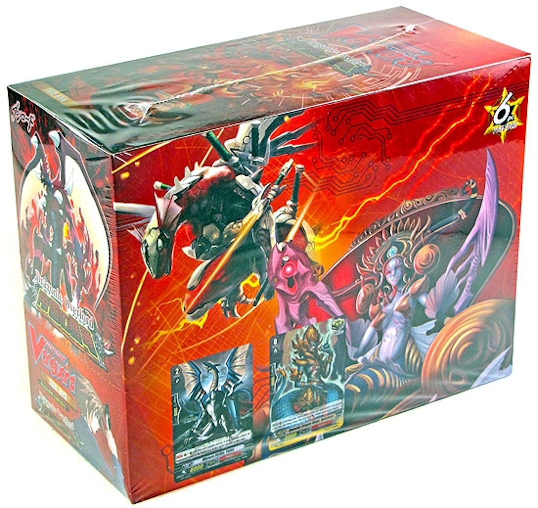 Cardfight Vanguard Dragonic Overlord Deck Box Da Card World