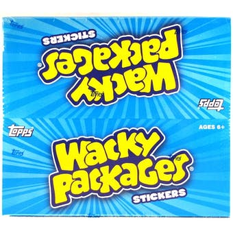 Wacky Packages Series 8 Trading Card Stickers Hobby Box (Topps 2011)