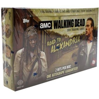 The Walking Dead: Road to Alexandria Hobby Box (Topps 2018)