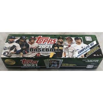 2021 Topps Factory Set Baseball (Box) (Green) (Walmart)