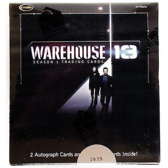 Warehouse 13 Season One Trading Cards Box (Rittenhouse 2010)