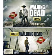 The Walking Dead Season 4 Part 1 + Part 2 Trading Cards 2-Box COMBO (Cryptozoic 2016)