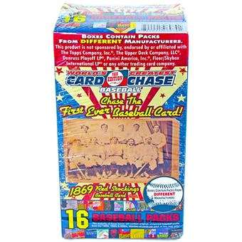 2010 TriStar World's Greatest Card Chase 1869 Red Stockings 16 Pack Baseball Box