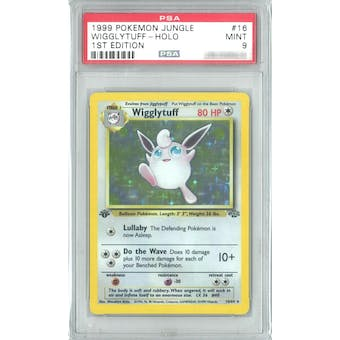 Pokemon Jungle 1st Edition Wigglytuff 16/64 PSA 9