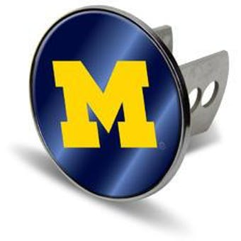 "Michigan Wolverines Rico Industries 4 "" Laser Trailer Hitch Cover"