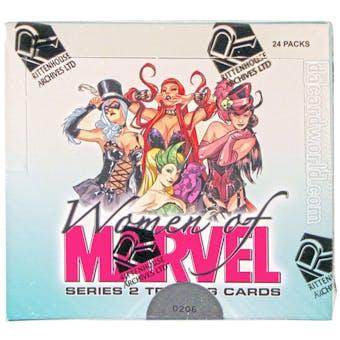 Women of Marvel: Series 2 Trading Cards Box (Rittenhouse 2013)