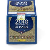 2018 Panini FIFA World Cup Russia Sticker Collection Box