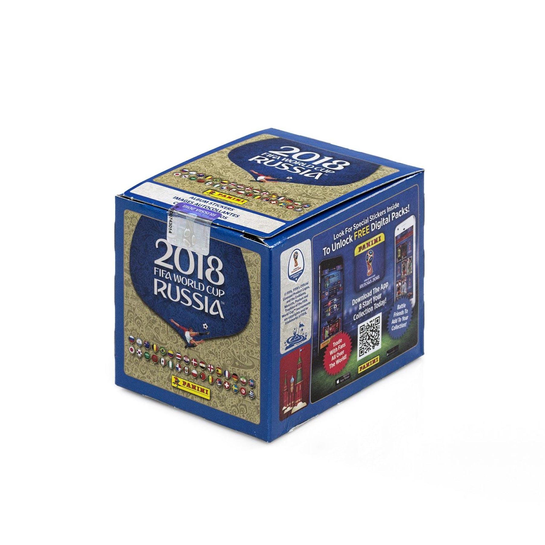 59ec94078 2018 Panini FIFA World Cup Russia Sticker Collection Box | DA Card World
