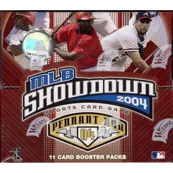 WOTC MLB Showdown 2004 Pennant Run Baseball Booster Box