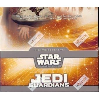 WOTC Star Wars TCG Jedi Guardians Booster Box