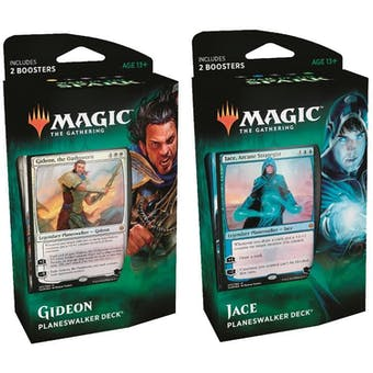 Magic the Gathering War of the Spark Planeswalker Deck - Set of 2
