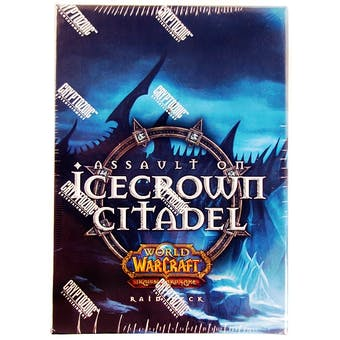 World of Warcraft Assault on Icecrown Citadel Raid Deck Box