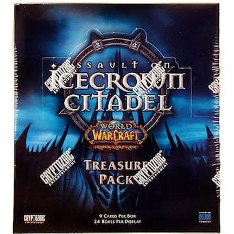 World of Warcraft Assault on Icecrown Citadel Treasure Pack Box