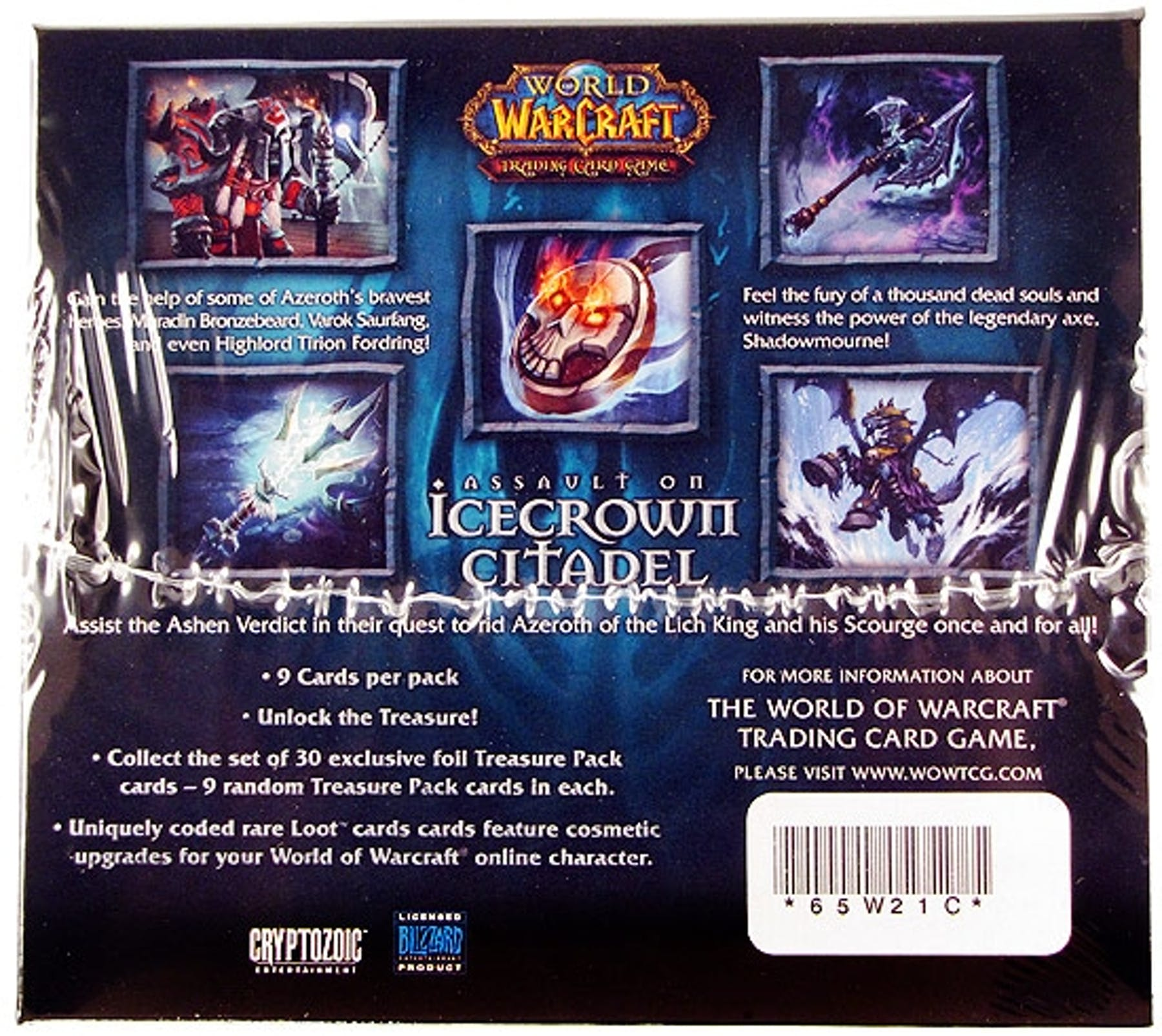 World of Warcraft Assault on Icecrown Citadel Treasure Pack Box | DA