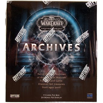 World of Warcraft Archives Booster Box