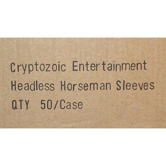World of Warcraft Headless Horseman Card Sleeves 50 Pack Box