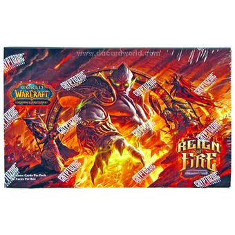 World of Warcraft Timewalkers: Reign of Fire Booster Box