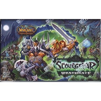 World of Warcraft Scourgewar Wrathgate Booster Box