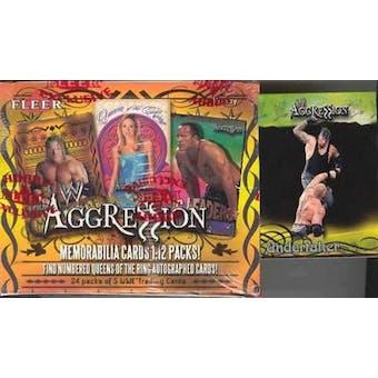 2003 Fleer WWF WWE Aggression Wrestling Hobby Box