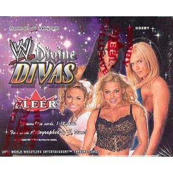 2003 Fleer WWF WWE Divine Divas Wrestling Hobby Box