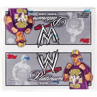 2010 Topps WWE Platinum Wrestling Hobby Box