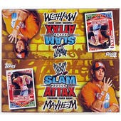 2010 Topps WWE Slam Attax Mayhem Wrestling Booster Box