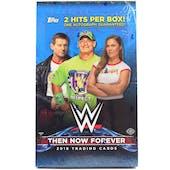 2018 Topps WWE Then, Now, Forever Wrestling Hobby Box