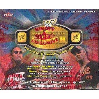 2001 Fleer WWF WWE Championship Clash Wrestling Hobby Box