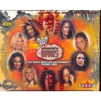 2002 Fleer WWF WWE Absolute Divas Wrestling Hobby Box