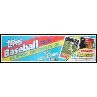 1992 Topps Baseball Factory Set (Christmas Set)