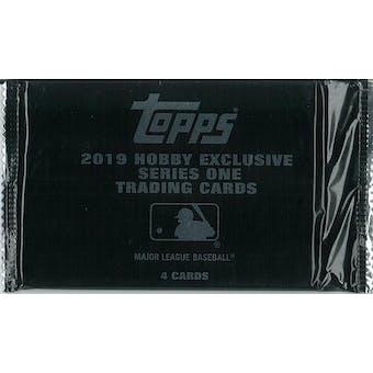 2019 Topps Series 1 Baseball Hobby Silver Pack