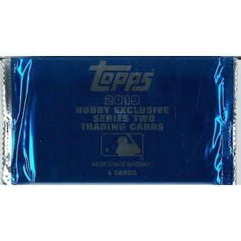 2019 Topps Series 2 Baseball Hobby Silver Pack