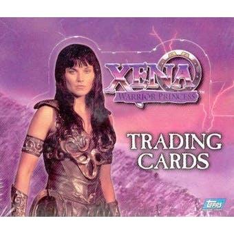 Xena Season 1 Hobby Box (1998 Topps)