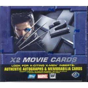 X-Men X2 Hobby Box (2003 Topps)