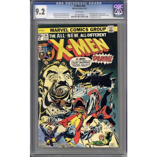 X-Men #94 CGC 9.2 (OW-W) *3788054004*