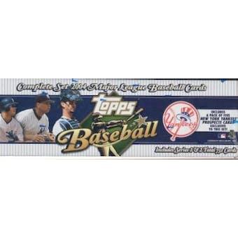2004 Topps Factory Set Baseball (Box) (New York Yankees) - Very Rare