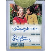 2018 Rittenhouse Star Trek TOS The Captain's Collection Yarnall/Koenig Dual Autograph
