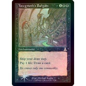 Magic the Gathering Urza's Destiny Single Yawgmoth's Bargain FOIL - NEAR MINT (NM)