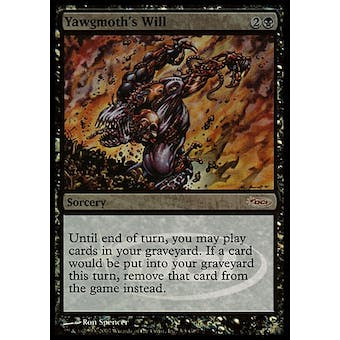 Magic the Gathering Promo Single Yawgmoth's Will JUDGE FOIL - NEAR MINT (NM)