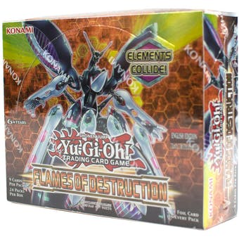 Yu-Gi-Oh Flames of Destruction Booster Box