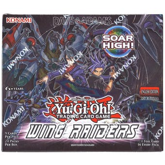 Yu-Gi-Oh Wing Raiders 1st Edition Booster Box