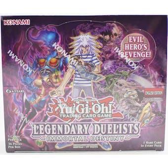 Yu-Gi-Oh Legendary Duelists: Immortal Destiny Booster Box