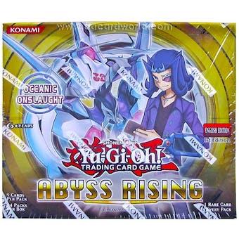 Yu-Gi-Oh Abyss Rising Booster Box