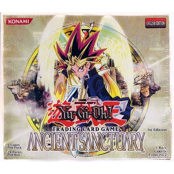 Upper Deck Yu-Gi-Oh Ancient Sanctuary 1st Edition Booster Box AST